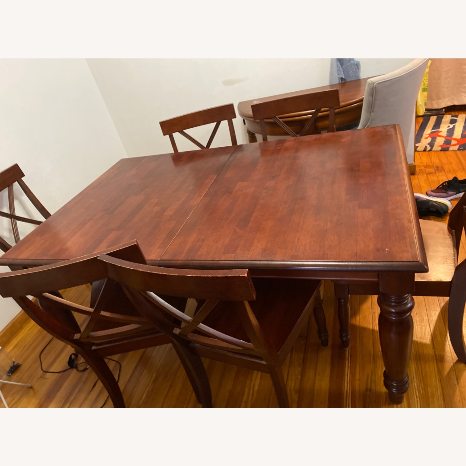 Pier One Imports Dining Set with Hidden Leaf - image-3