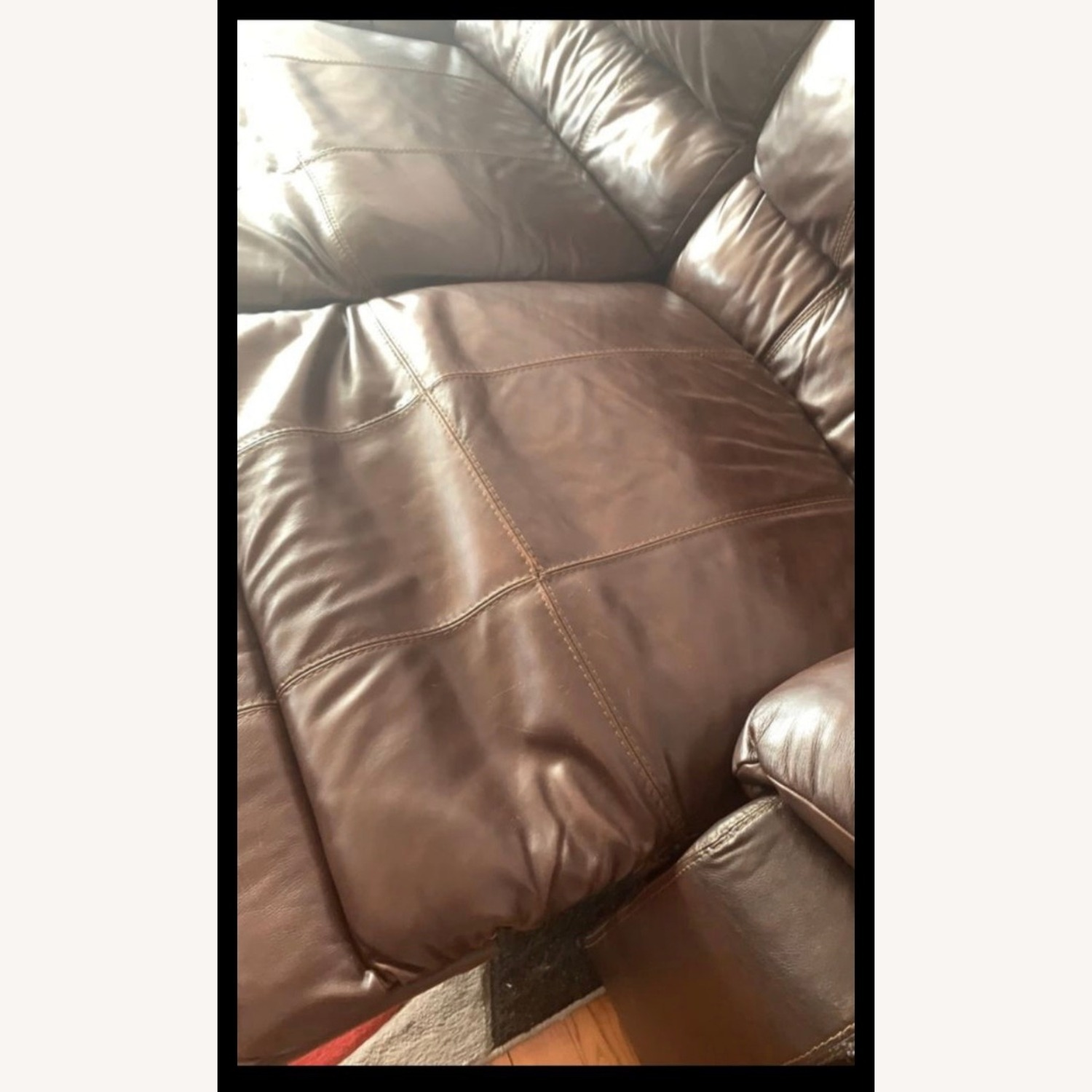 Ashley Furniture Huge Couch with 4 Recliners - image-2