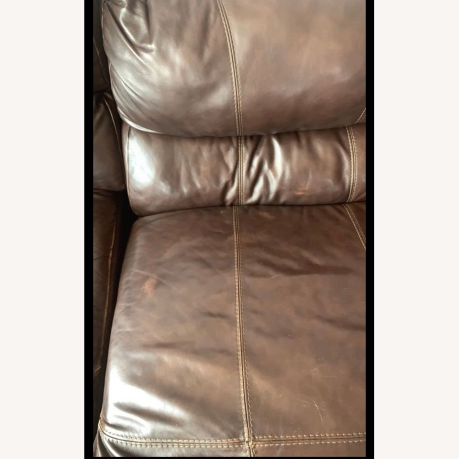 Ashley Furniture Huge Couch with 4 Recliners - image-3