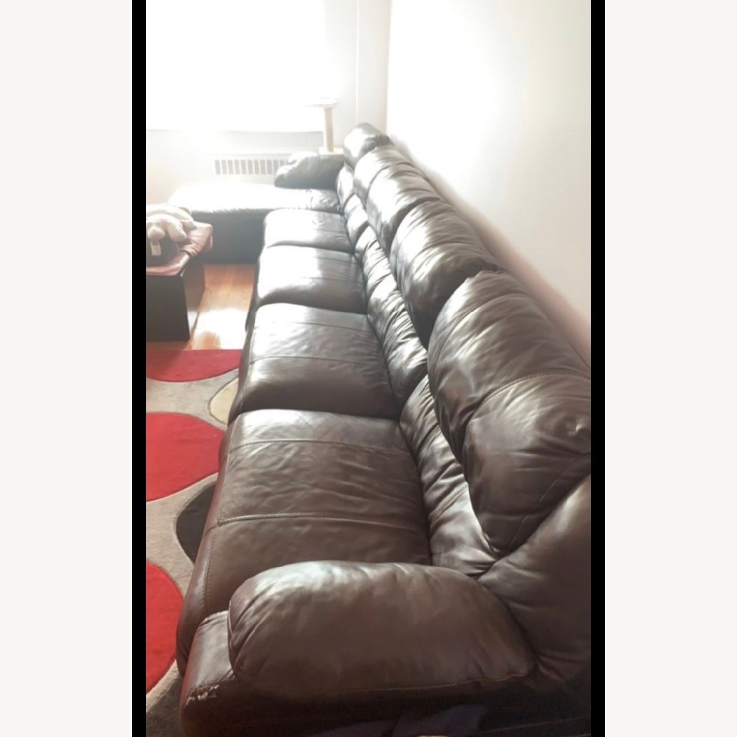 Ashley Furniture Huge Couch with 4 Recliners - image-7