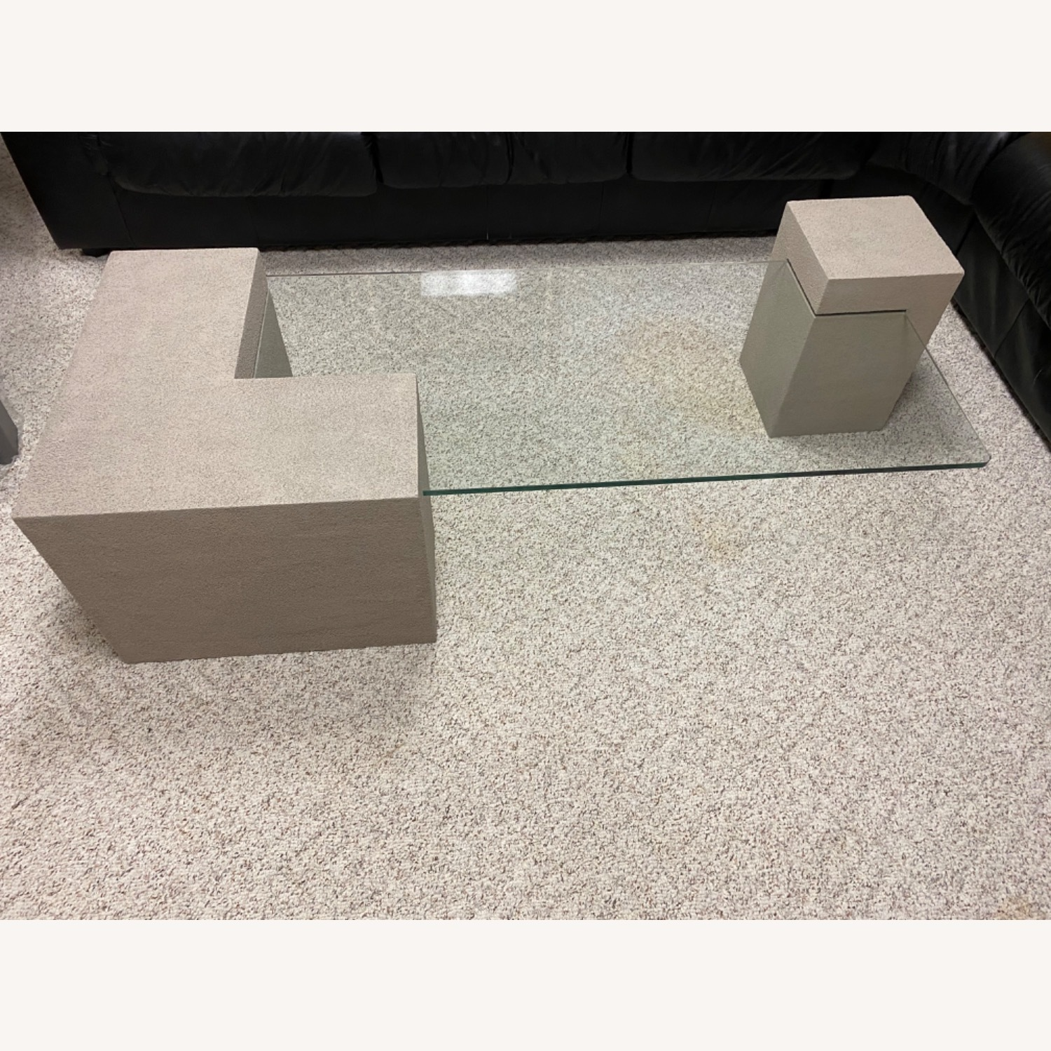 Stone Look Cocktail Table - image-1