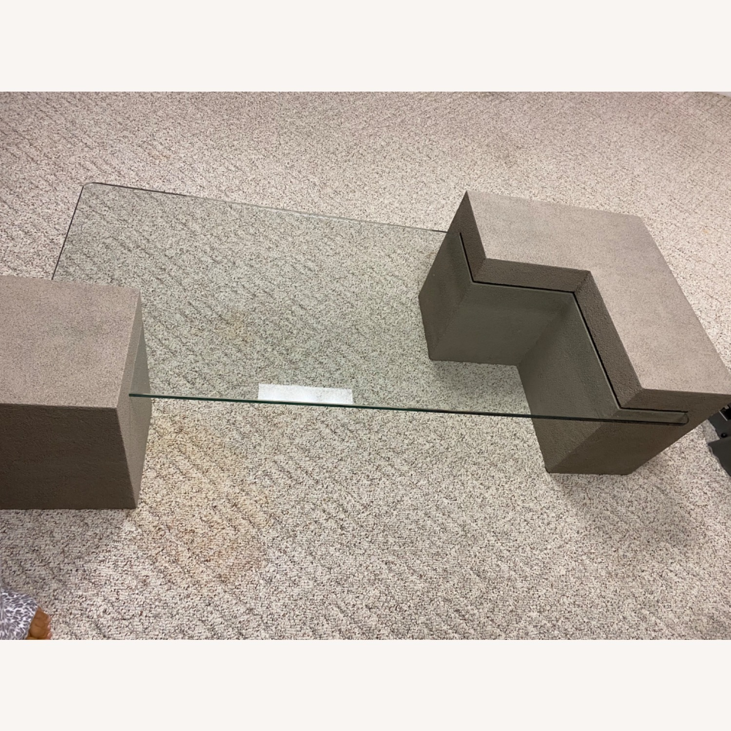Stone Look Cocktail Table - image-3