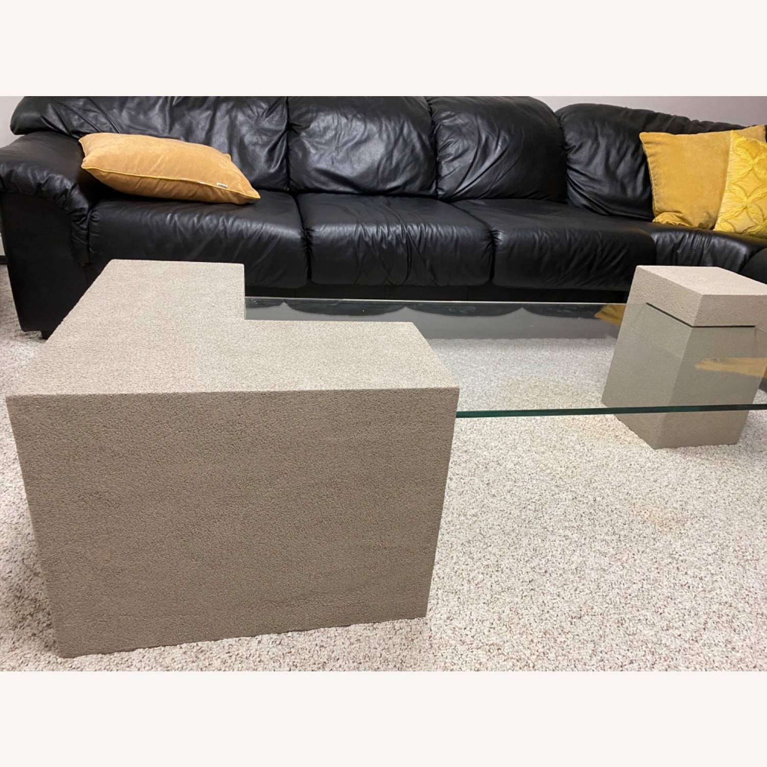 Stone Look Cocktail Table - image-2