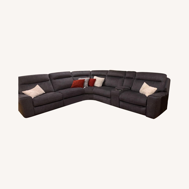 Istikbal Furniture Parthenon 5 pc Sectional - image-0