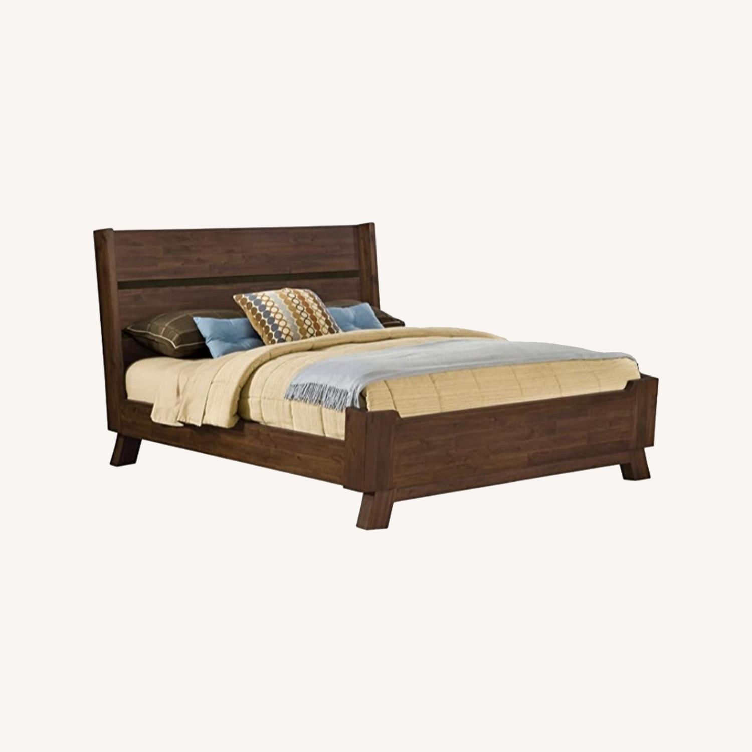 Modus Furniture Solid Wood Queen Bed - image-0