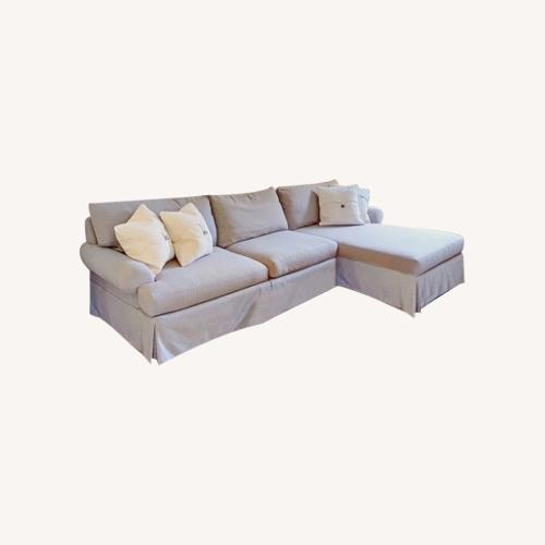 Used Designer Rockport Right-Facing Sectional Sofa for sale on AptDeco
