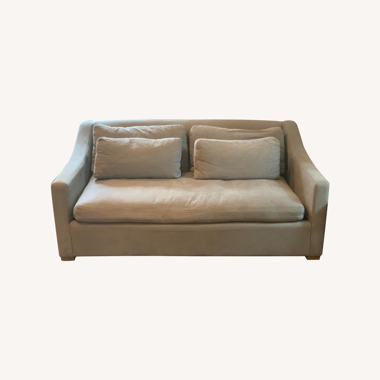 Restoration Hardware Slope Arm Sofa - image-0