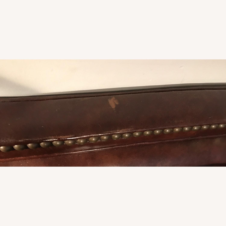 Ralph Lauren Home Aran Isles Leather Sofa - image-11
