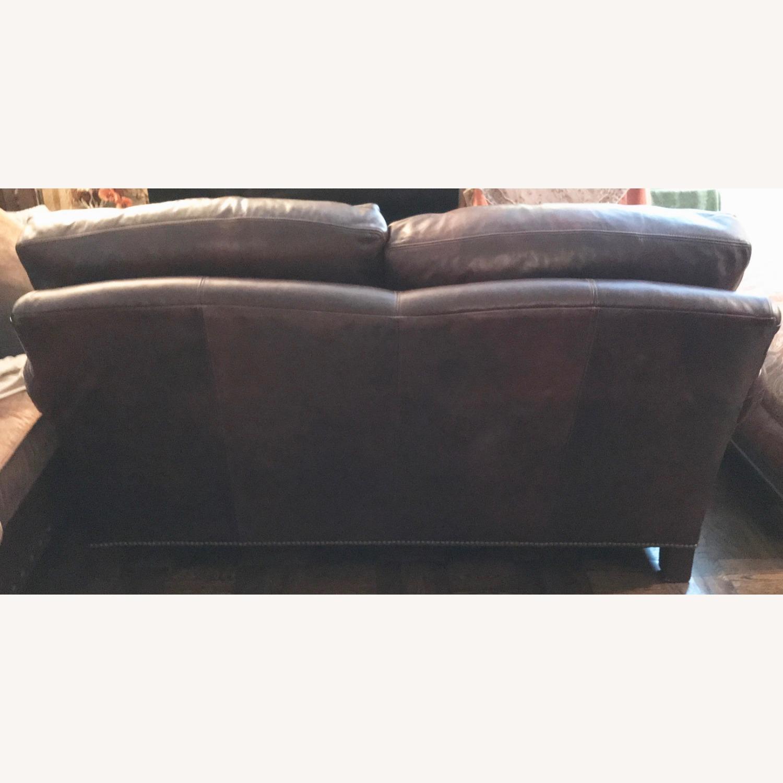 Ralph Lauren Home Aran Isles Leather Sofa - image-7