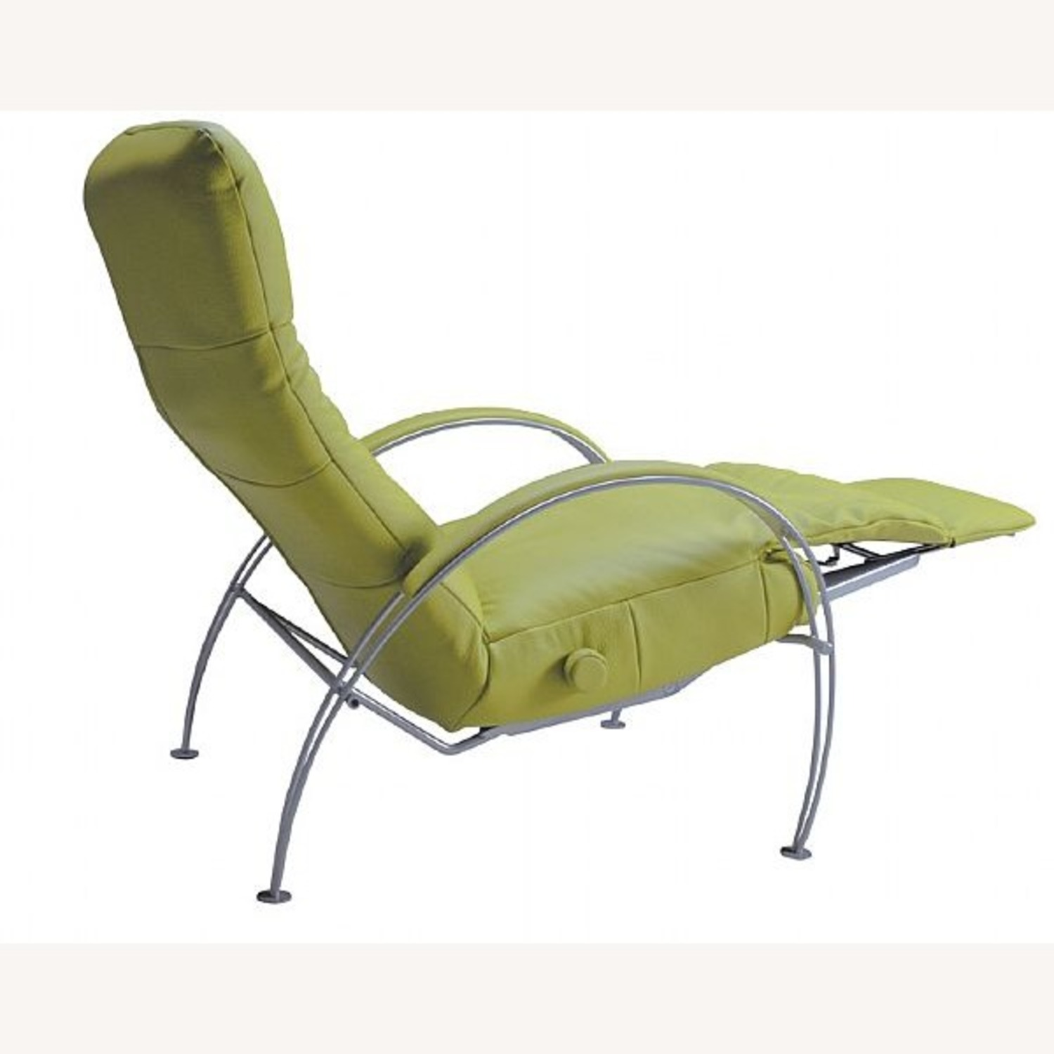 Lafer Green Leather Recliner - image-3
