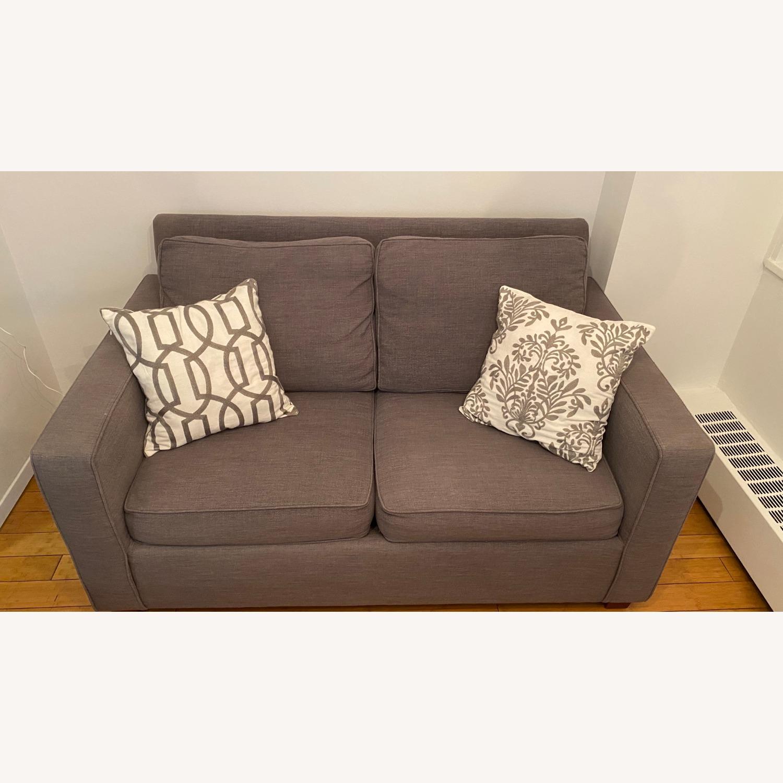 West Elm Henry Sleeper Sofa Twin - image-1