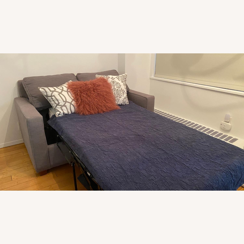 West Elm Henry Sleeper Sofa Twin - image-5