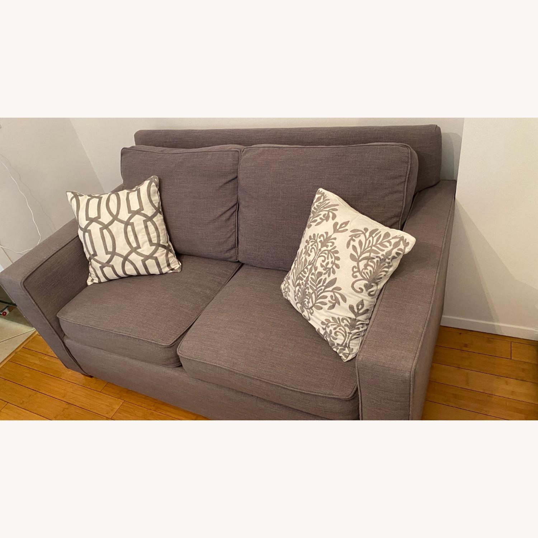 West Elm Henry Sleeper Sofa Twin - image-3