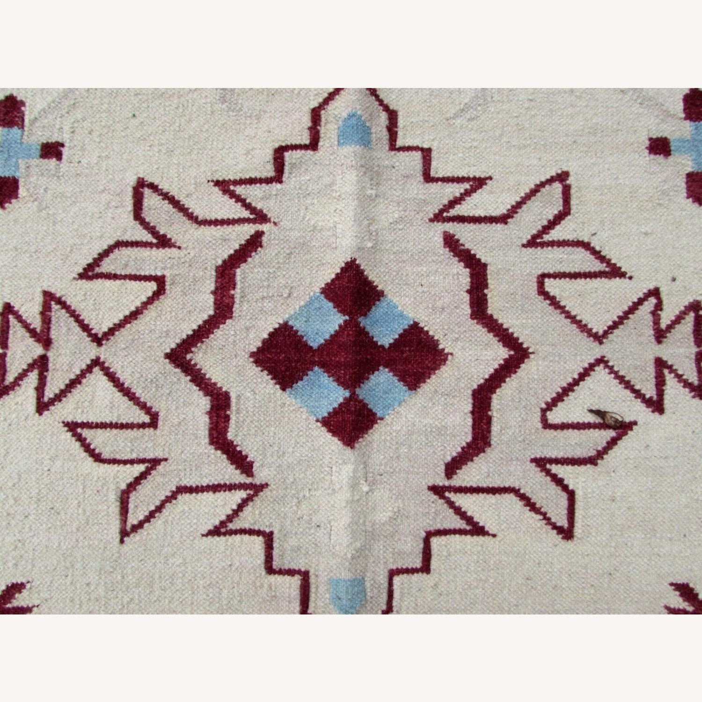 Handmade Vintage Indian Dhurri Kilim - image-3