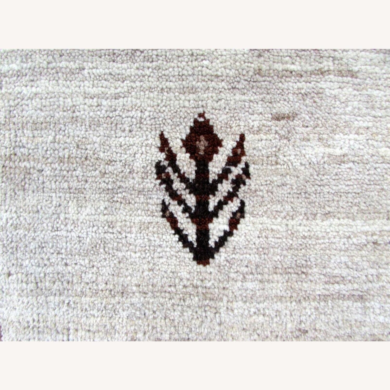 Handmade Vintage Persian Gabbeh Rug - image-9