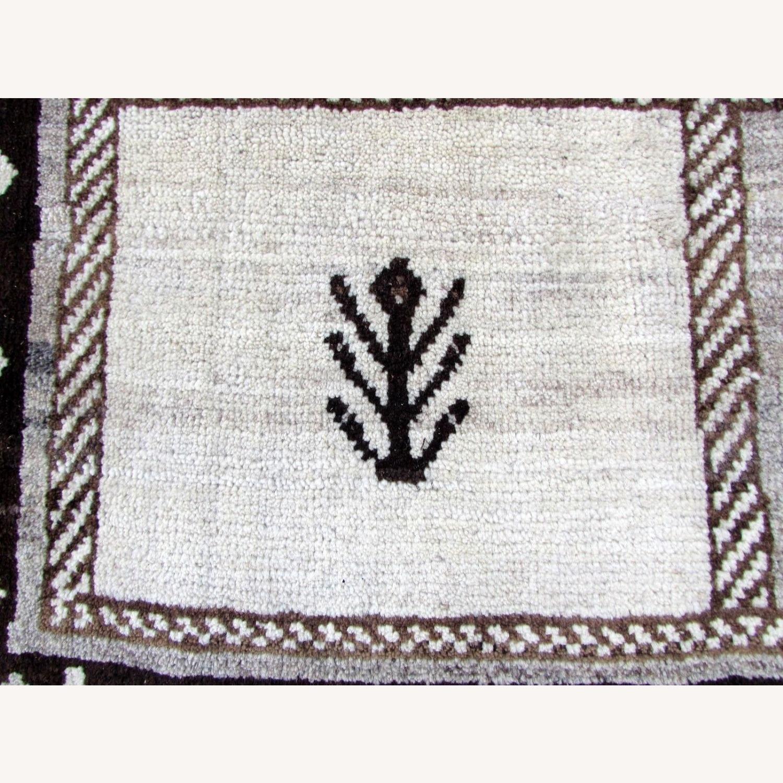 Handmade Vintage Persian Gabbeh Rug - image-12