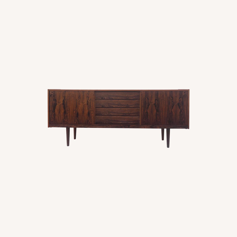 Mid-Century Rosewood Sideboard - image-0