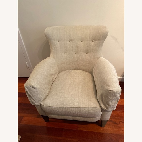 Used Jessica Charles Jansen Stationary Chair for sale on AptDeco