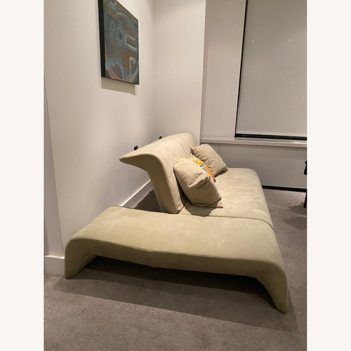 Used Ligne Roset Suede Convertible Downtown Sofa for sale on AptDeco