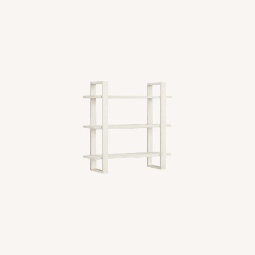Used Burrow Index Wall Shelf White for sale on AptDeco