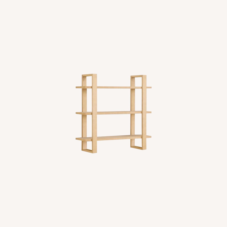 Burrow Index Wall Shelf Oak - image-0