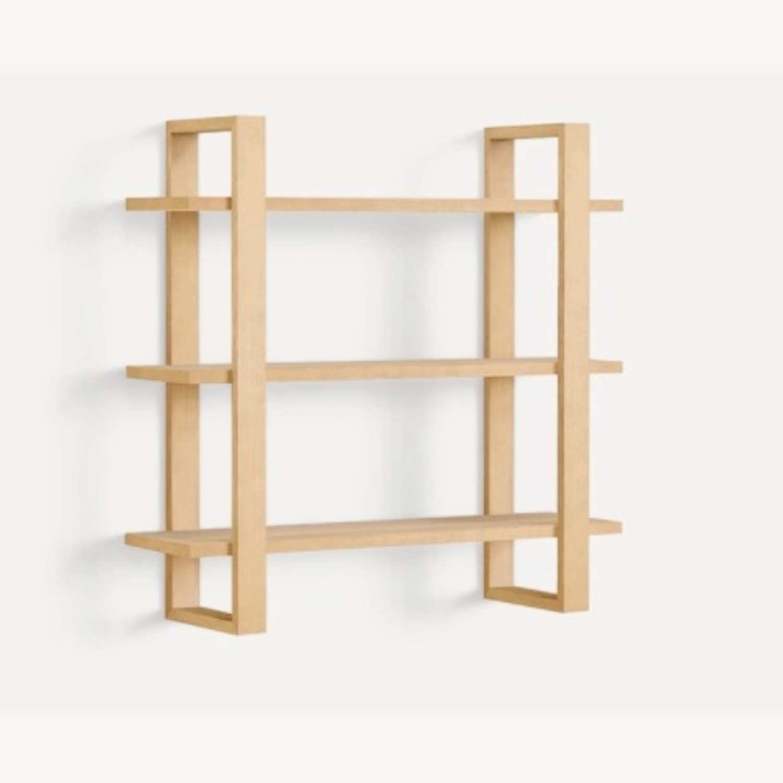 Burrow Index Wall Shelf Oak - image-2
