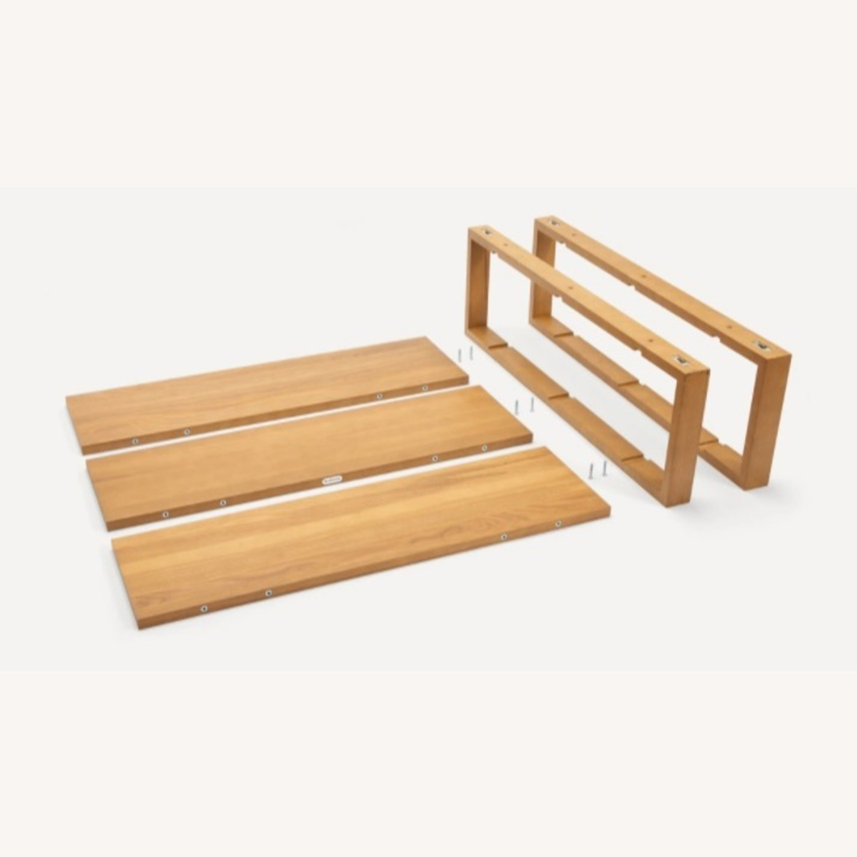 Burrow Index Wall Shelf Oak - image-3
