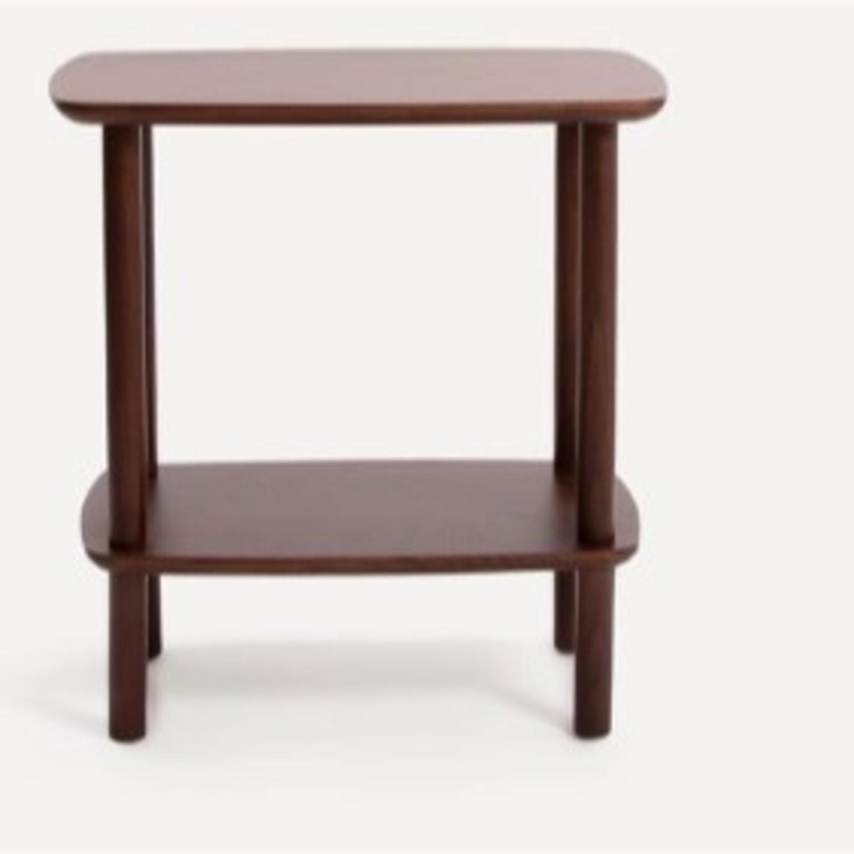 Burrow Serif Side Table Walnut - image-2