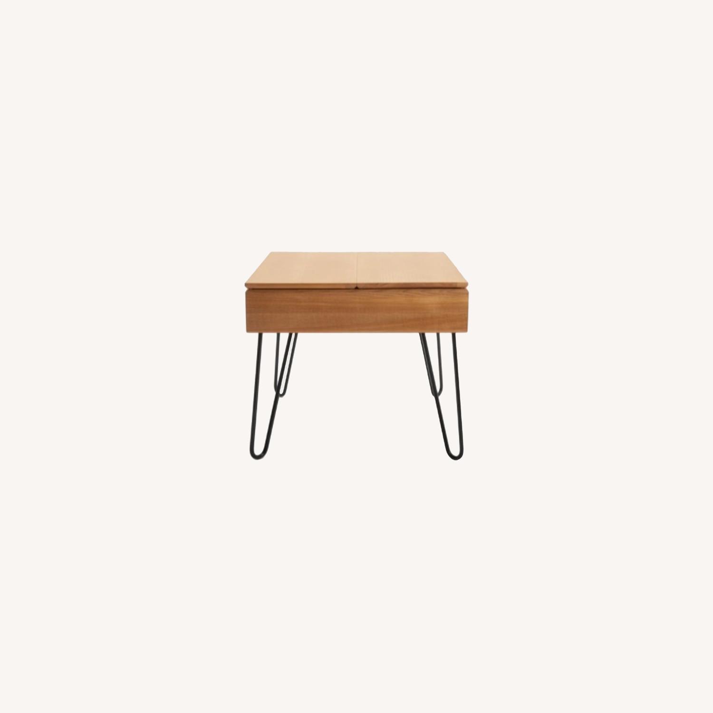 Burrow Bento Side Table Oak - image-0