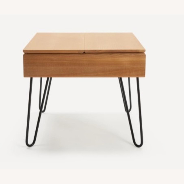 Burrow Bento Side Table Oak - image-2