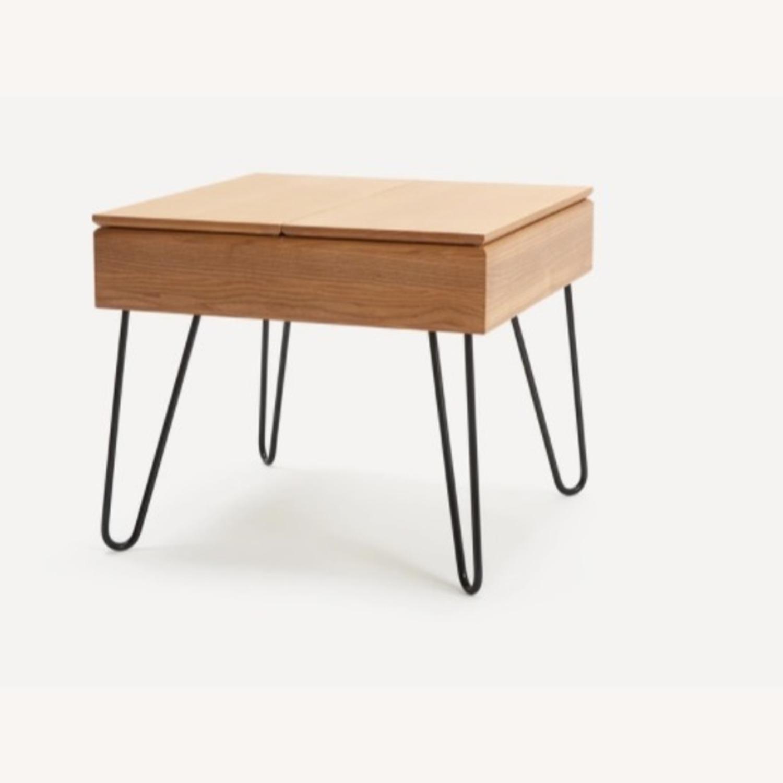 Burrow Bento Side Table Oak - image-1