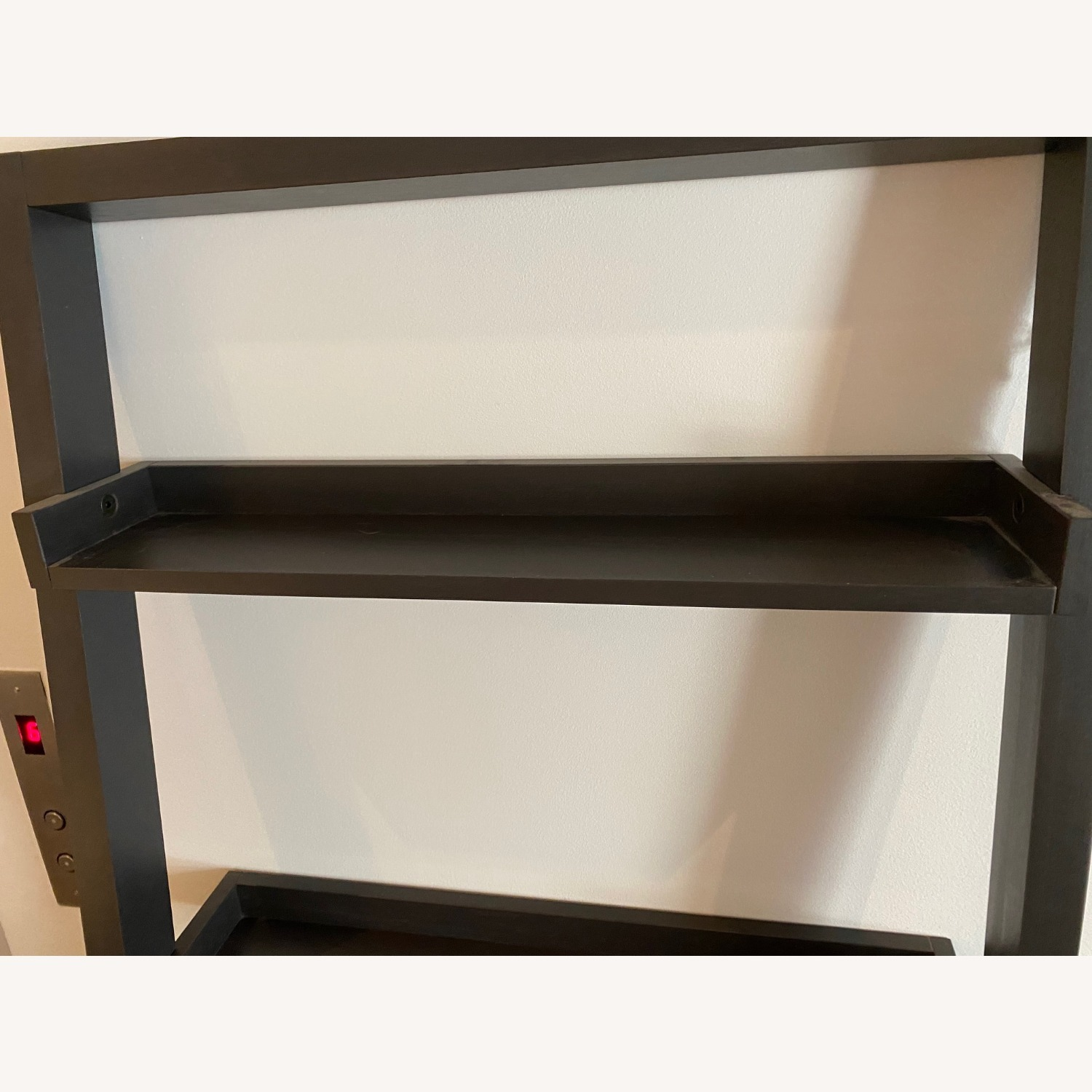 Crate and Barrel Sloane Leaning Bookcase - image-9