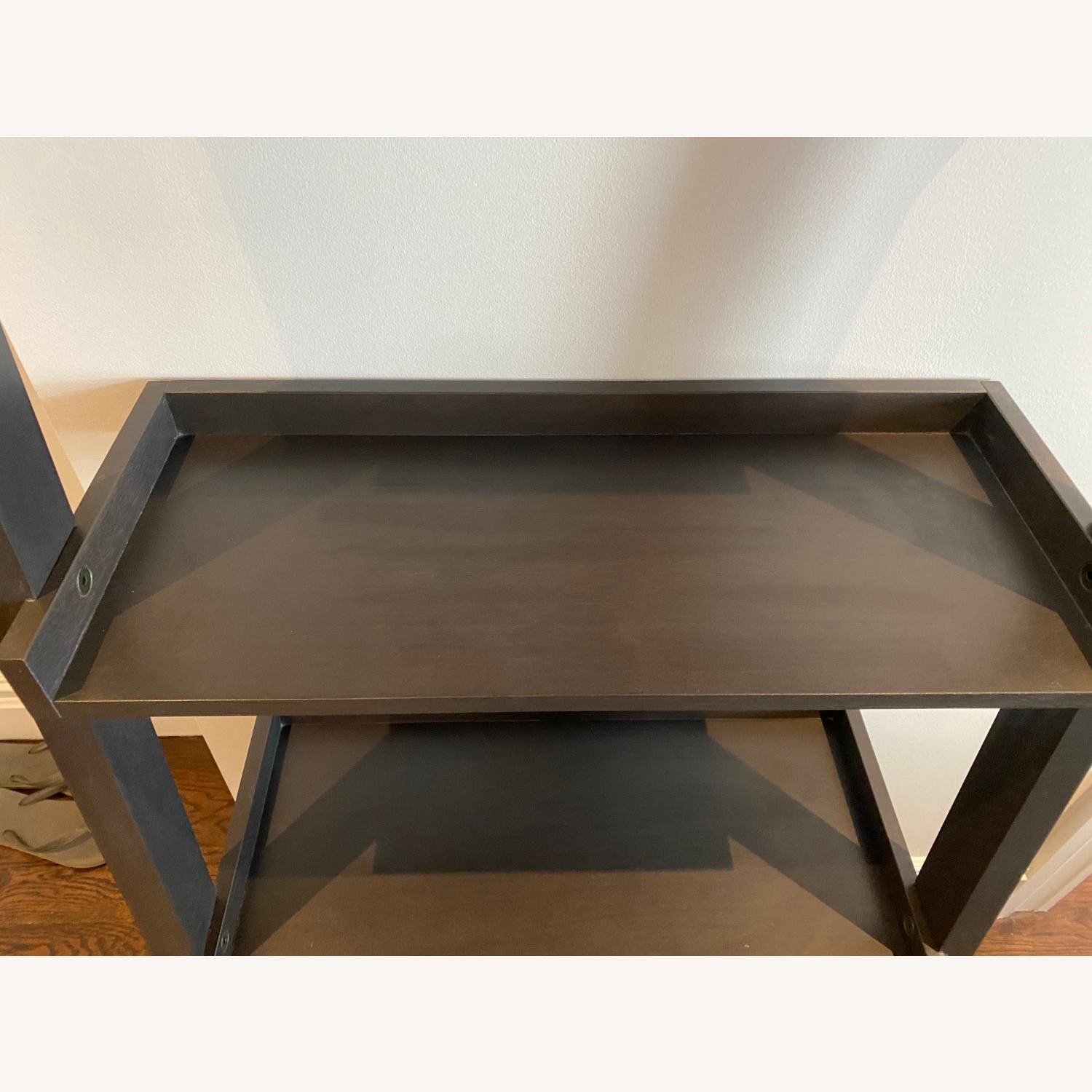 Crate and Barrel Sloane Leaning Bookcase - image-7