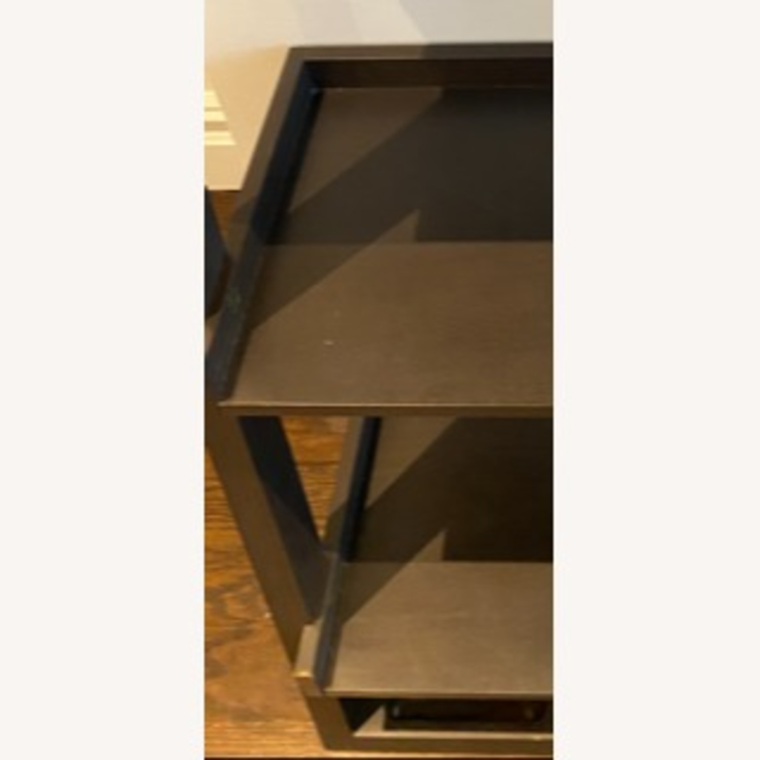 Crate and Barrel Sloane Leaning Bookcase - image-4