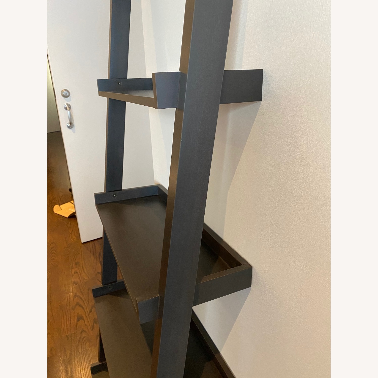 Crate and Barrel Sloane Leaning Bookcase - image-14