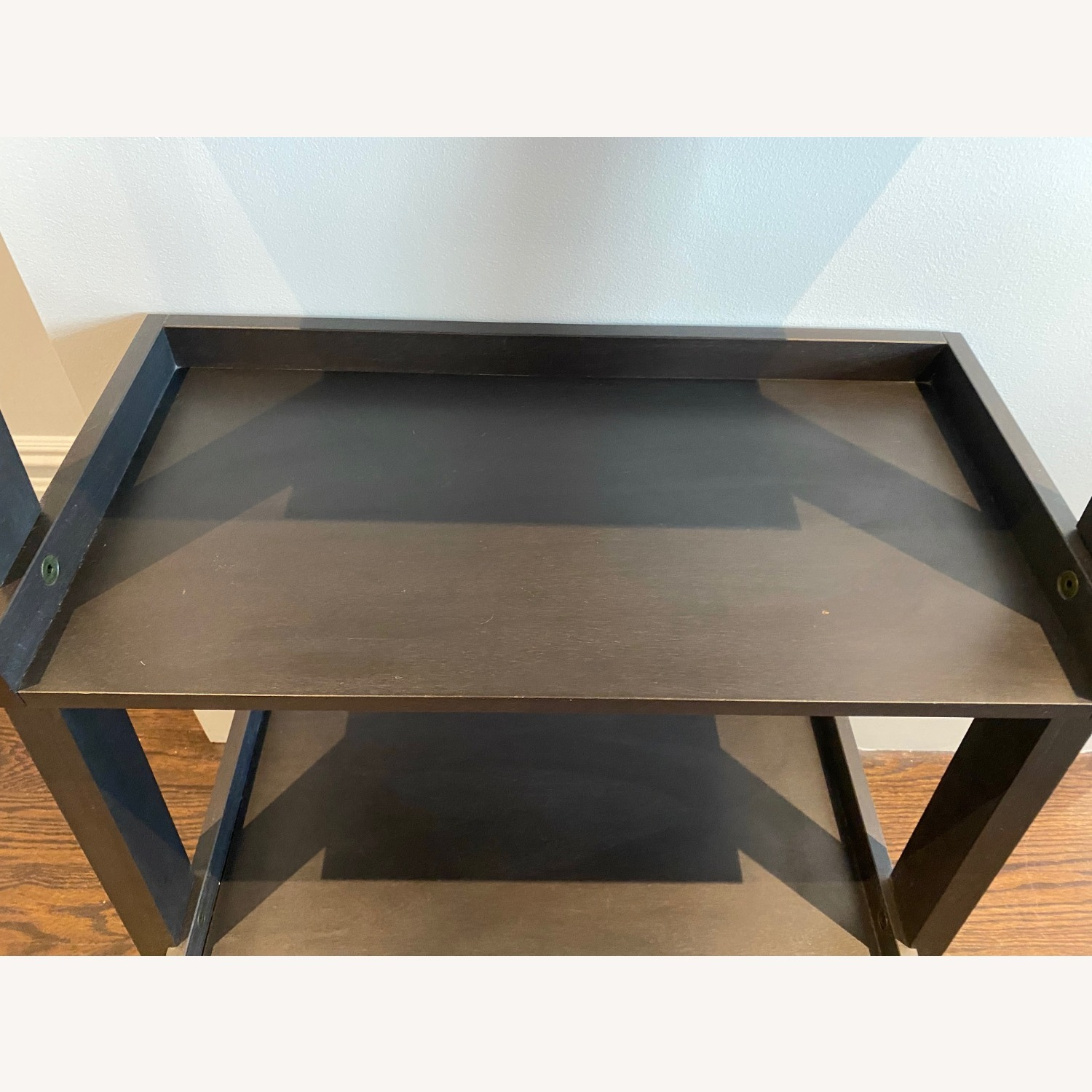 Crate and Barrel Sloane Leaning Bookcase - image-6
