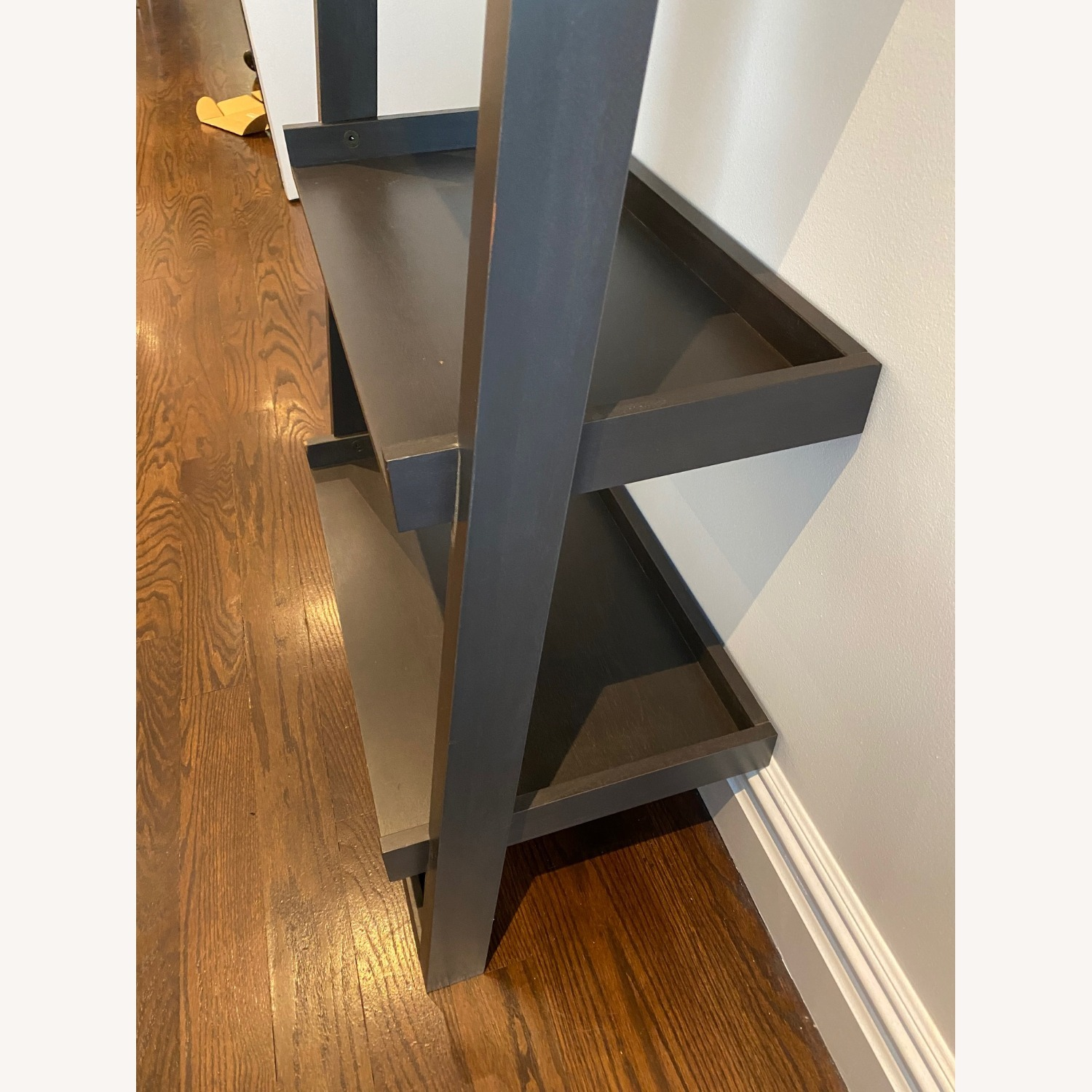 Crate and Barrel Sloane Leaning Bookcase - image-13