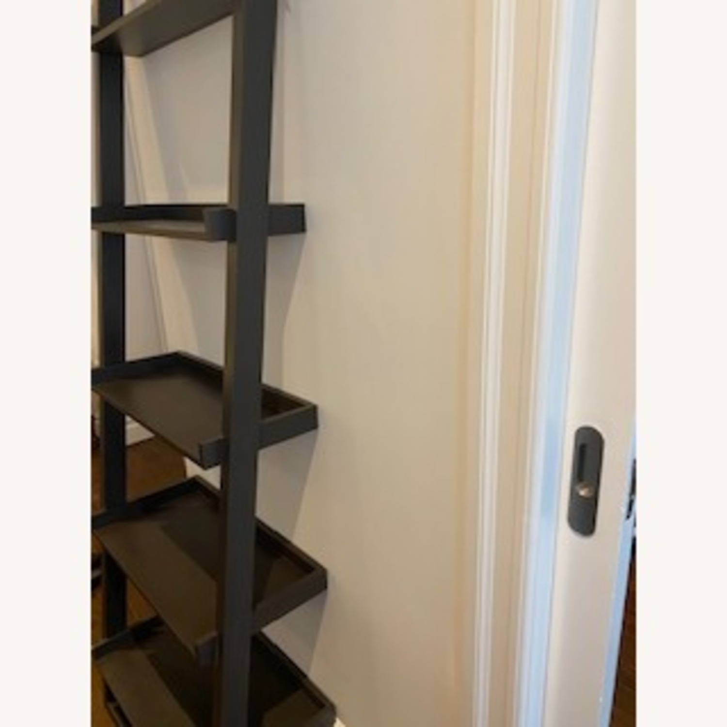 Crate and Barrel Sloane Leaning Bookcase - image-2