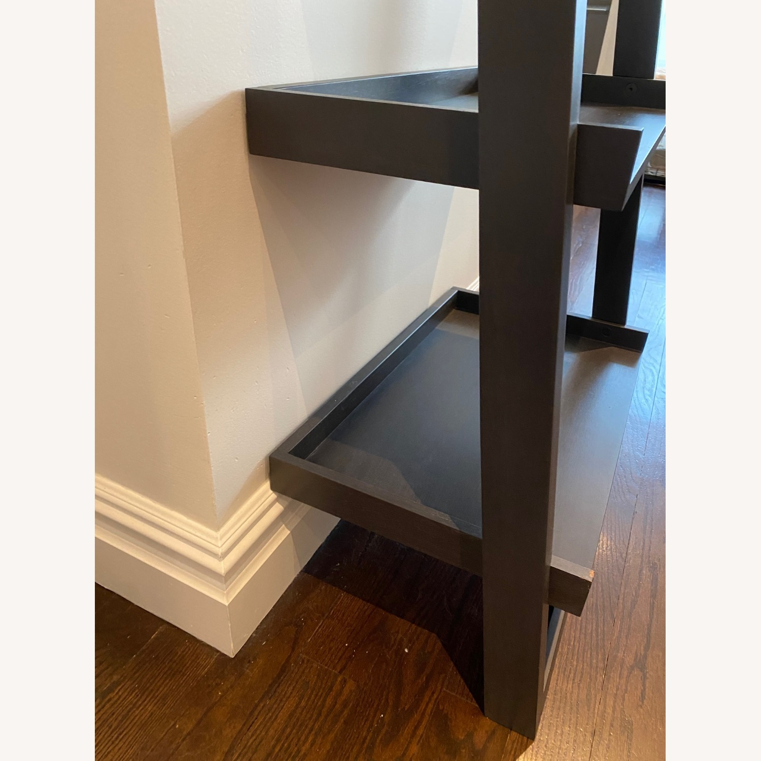 Crate and Barrel Sloane Leaning Bookcase - image-10