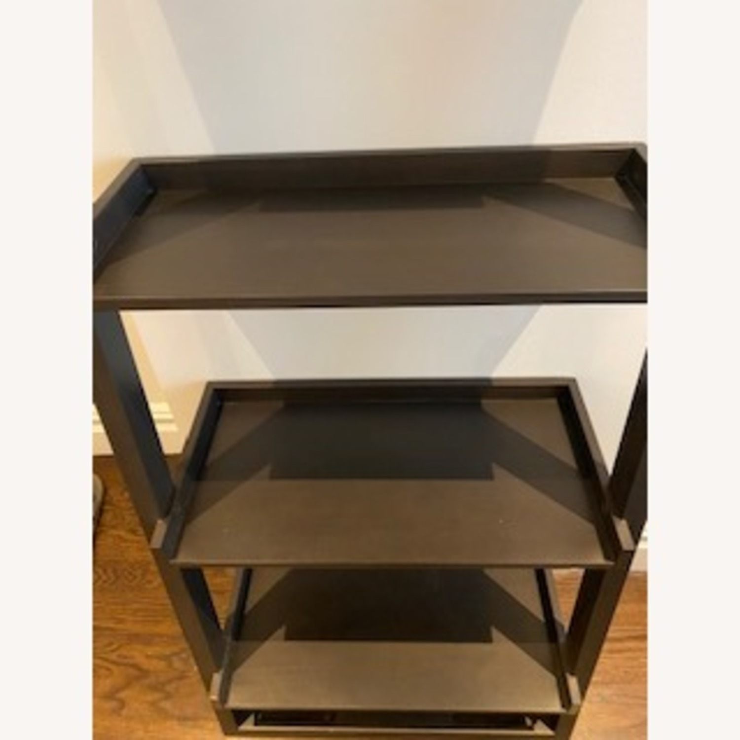 Crate and Barrel Sloane Leaning Bookcase - image-3