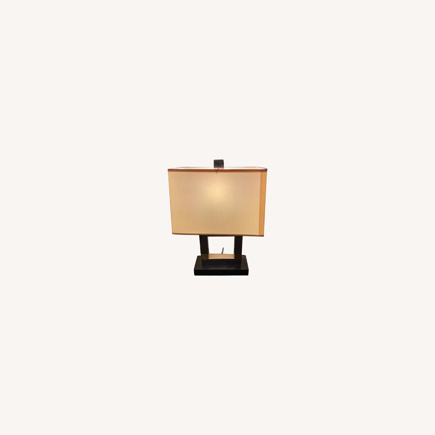 Modern Square Table Lamp - image-0