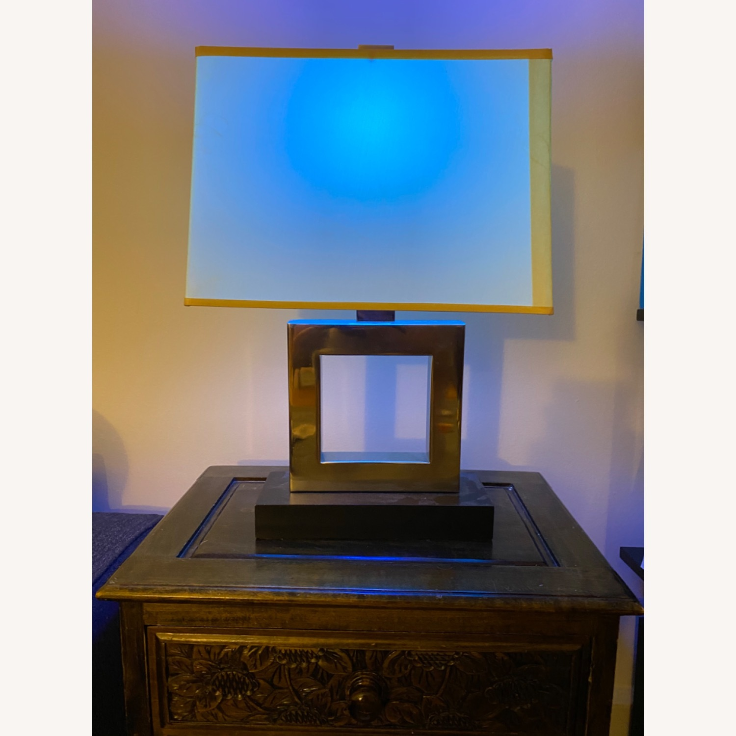 Modern Square Table Lamp - image-4