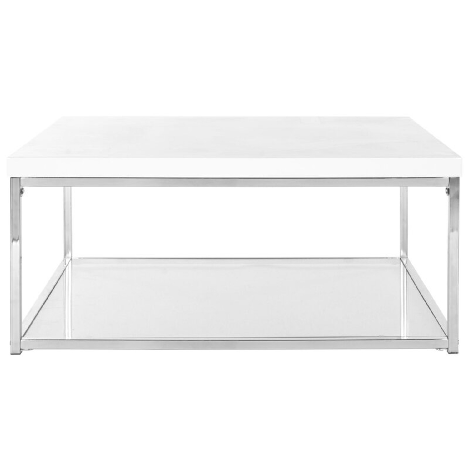 Modern Floor Coffee Table with Storage - image-2