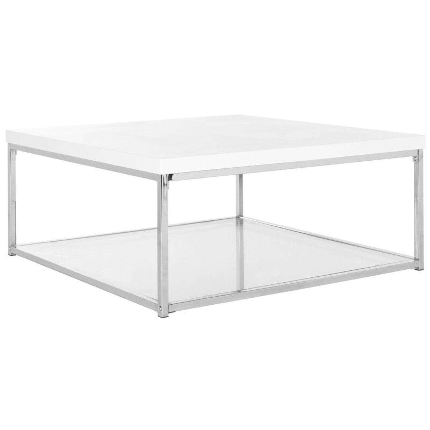 Modern Floor Coffee Table with Storage - image-1