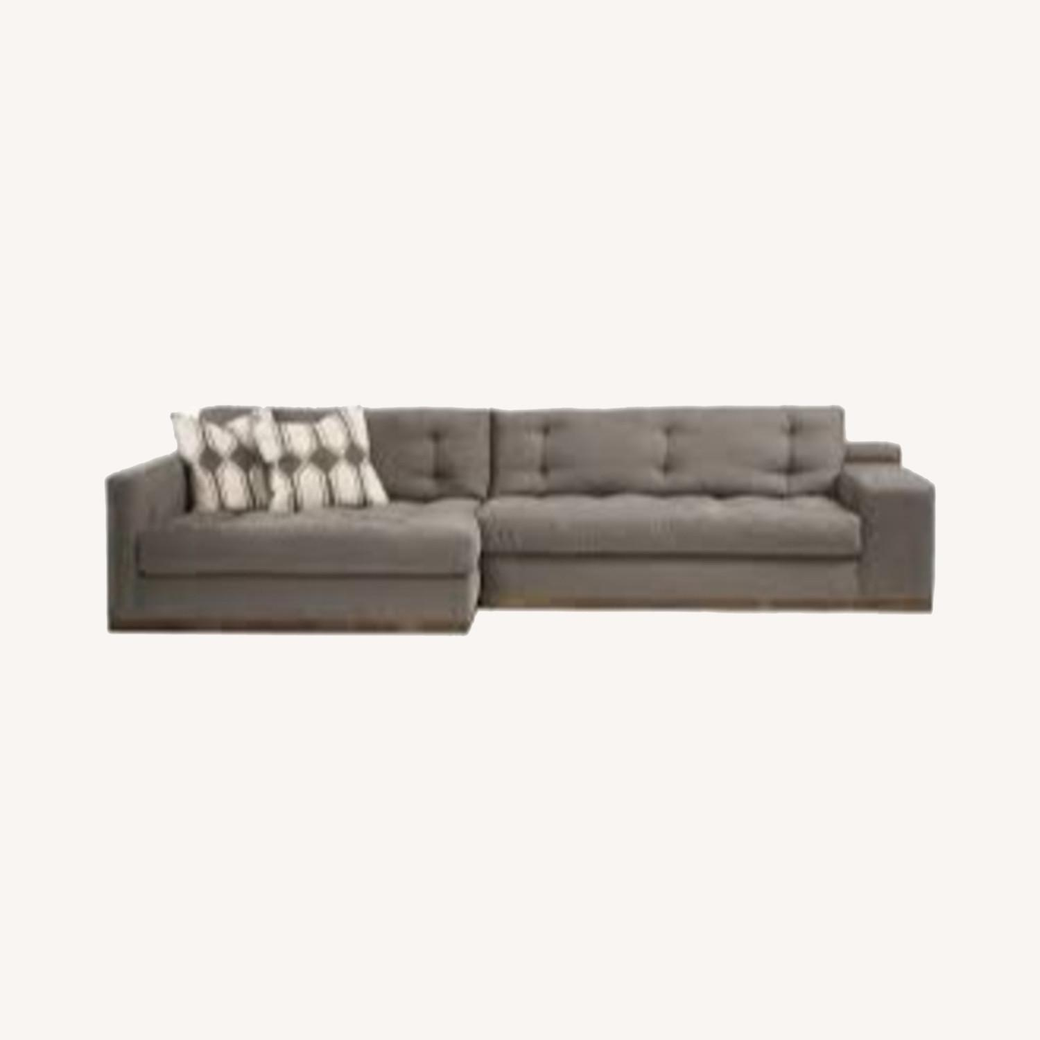 Sturdy Expertly Crafted Enormous Vegan Sectional - image-0