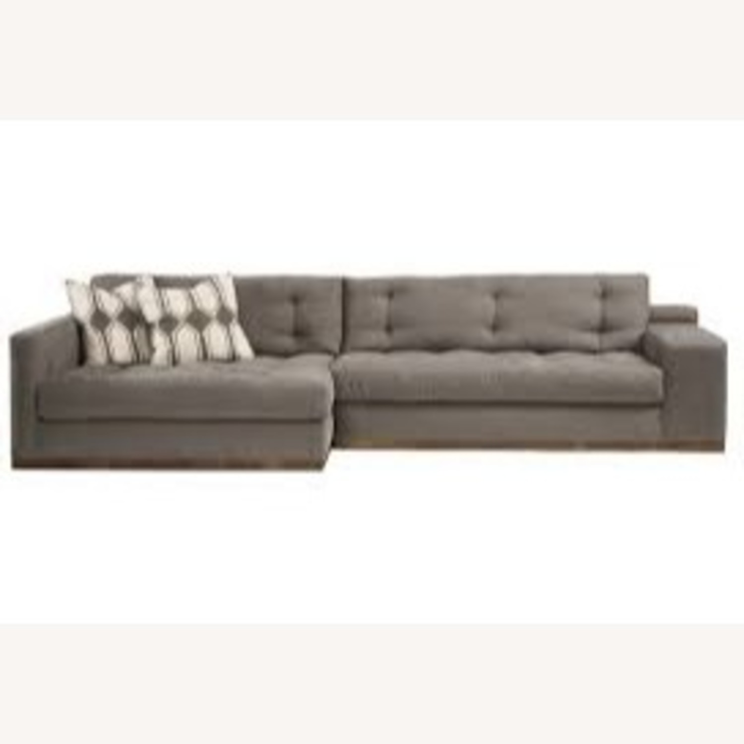 Sturdy Expertly Crafted Enormous Vegan Sectional - image-1