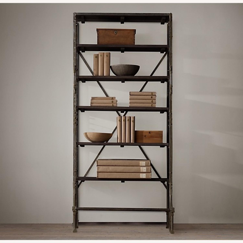 Restoration Hardware 1940S Bookcase - image-1