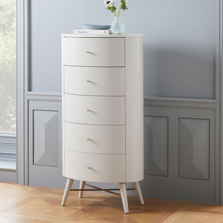 West Elm Penelope Narrow 5-Drawer Dresser  - image-2