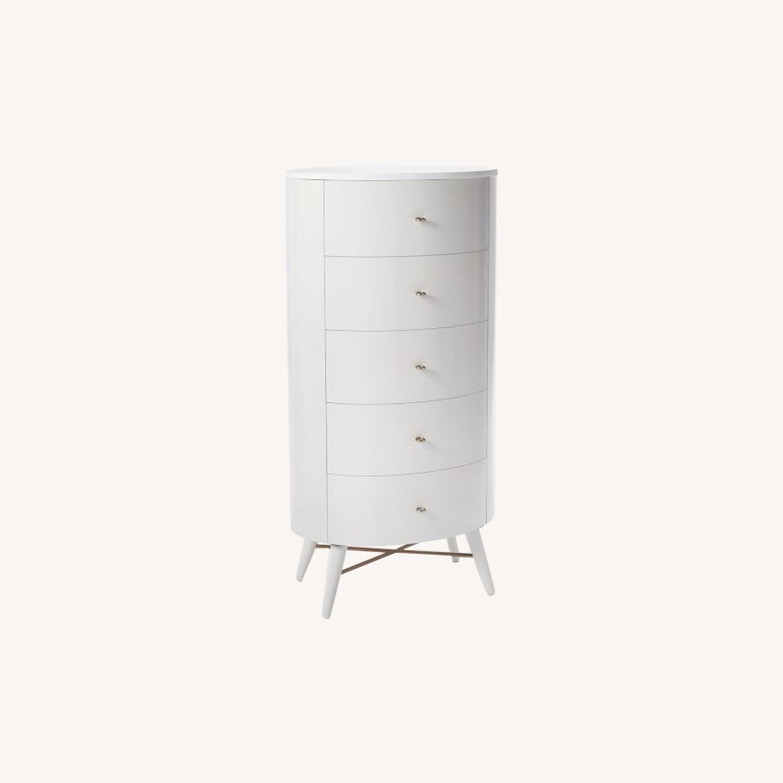 West Elm Penelope Narrow 5-Drawer Dresser  - image-0