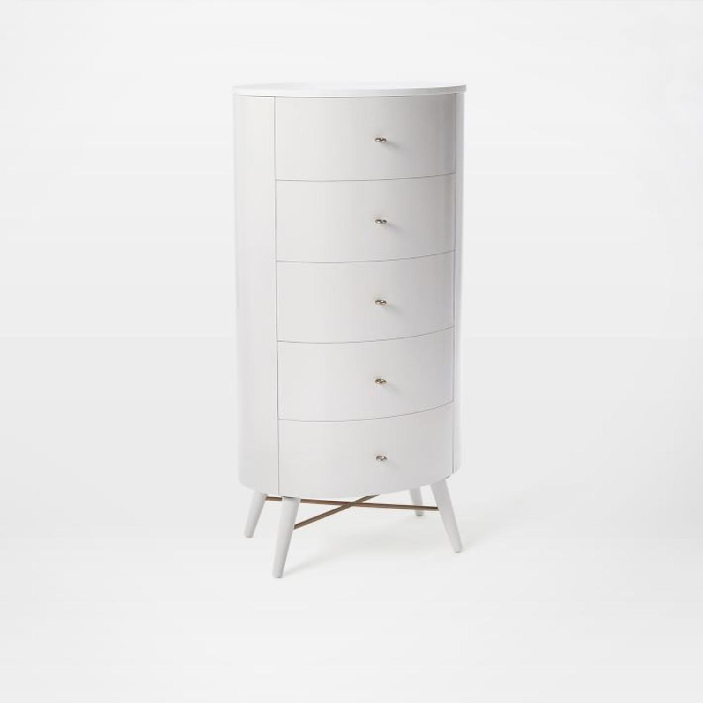 West Elm Penelope Narrow 5-Drawer Dresser  - image-1